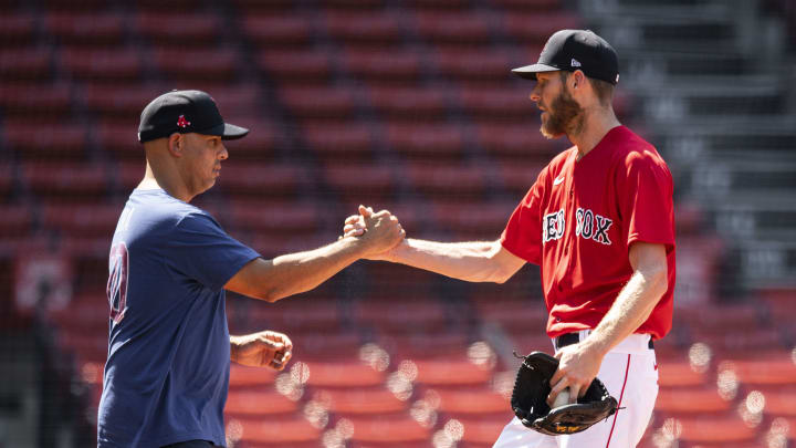 The Boston Red Sox got another encouraging injury update on Chris Sale.