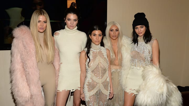 Khloe Kardashian, Kendall Jenner, Kourtney Kardashian, Kim Kardashian West, Kylie Jenner