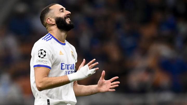 Karim Benzema Champions League Inter de Milão Real Madrid Valencia LaLiga