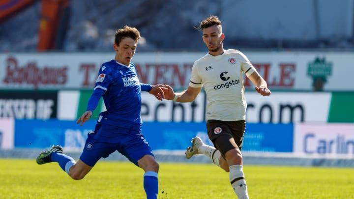 Karlsruher SC - FC St. Pauli: Die offiziellen Aufstellungen