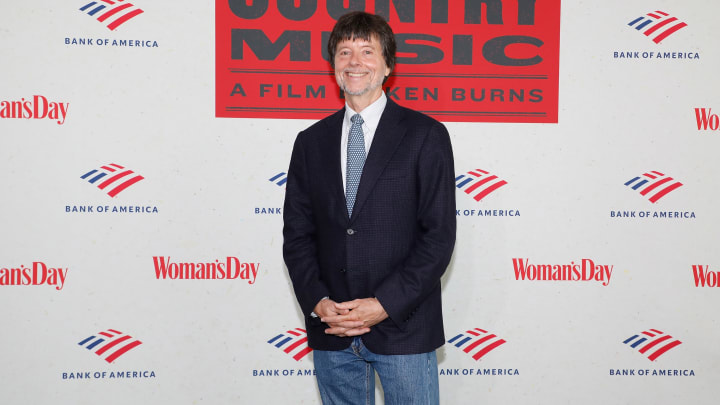 Ken Burns, creator of Baseball and a whole lot of other documentaries