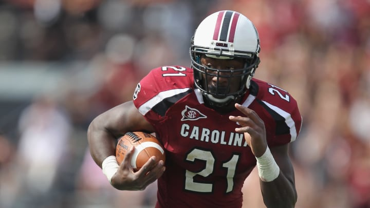 Former South Carolina RB Marcus Lattimore is calling for reform at the university.