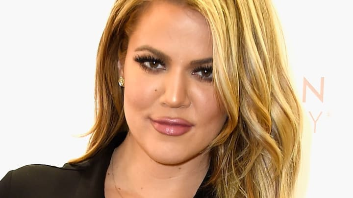 Khloe Kardashian Appears At ULTA Beauty's West Hills Store To Promote Kardashian Beauty Hair Care