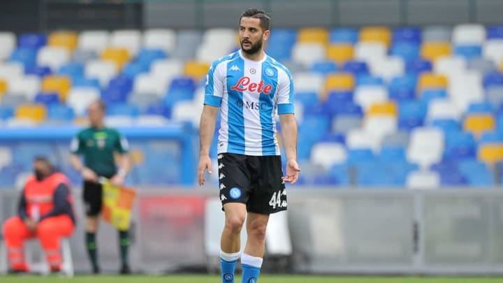 Konstantinos Manolas player of Napoli, during the match of...