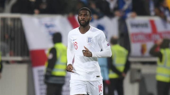 Fikayo Tomori was called up to the England squad last season