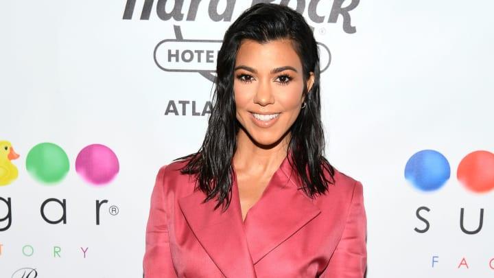 Kourtney Kardashian Hosts The Grand Opening Of Sugar Factory At Hard Rock Hotel & Casino Atlantic