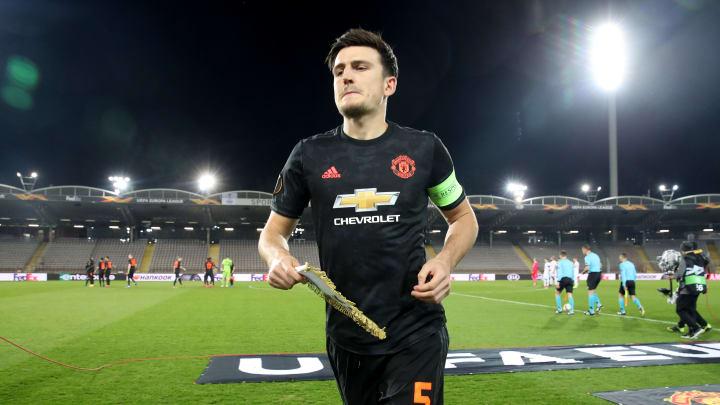 Maguire là đội trưởng của Man United