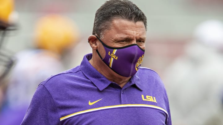 The kickoff time and TV channel have been set for the college football season opener between LSU and UCLA.