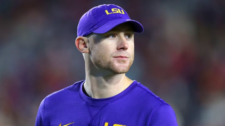 LSU passing game coordinator Joe Brady is reportedly headed for the NFL.