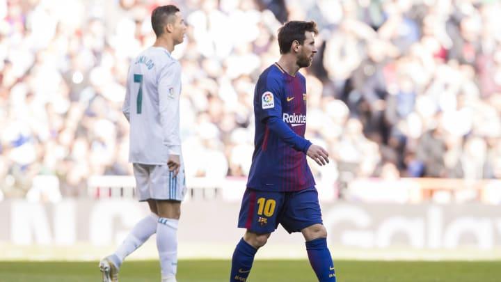 Seit jeher liefern sich Messi und Ronaldo ein Rennen um neue Rekorde