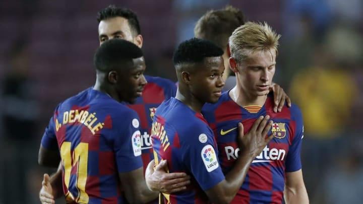 Nueva generación de futbolistas en el Barcelona