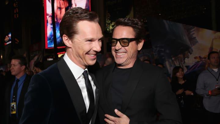 Doctor Strange wore Iron Man's armor in a deleted 'Avengers: Infinity War' scene.