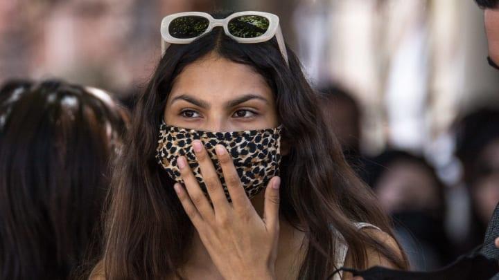 El uso de la mascarilla puede dañar la piel del rostro