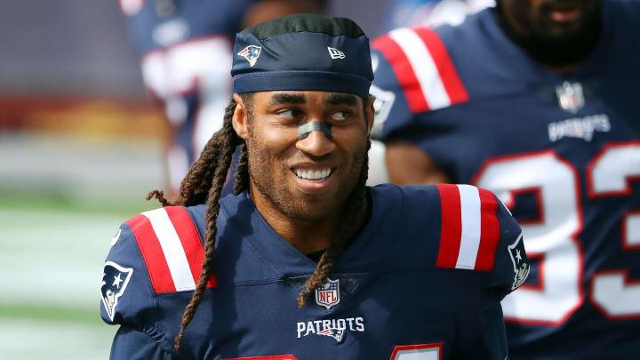 Stephon Gilmore, Las Vegas Raiders v New England Patriots