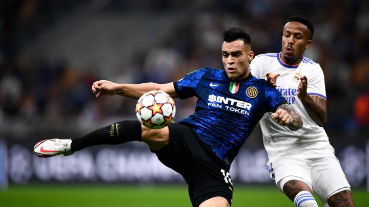 Lautaro Martinez Eder Militao Inter de Milão Bologna Série A Champions League Real Madrid