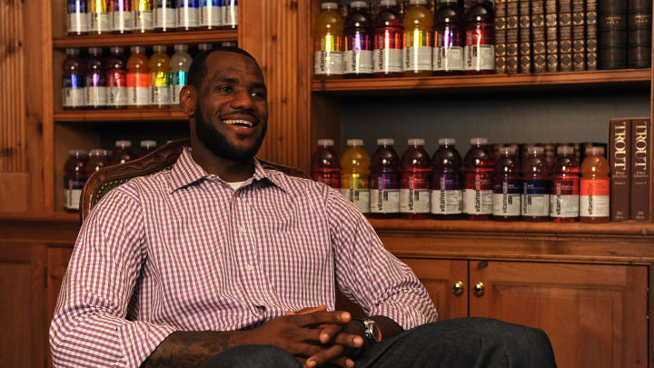 LeBron James Pre Decision Meet and Greet