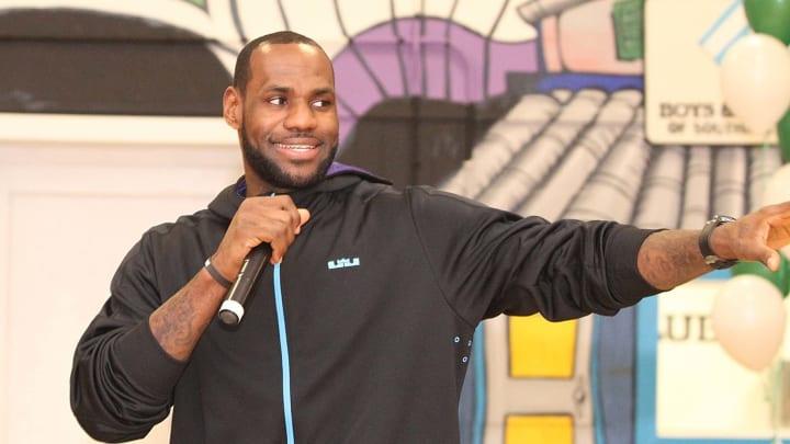 LeBron James es una de las figuras más populares del mundo del deporte