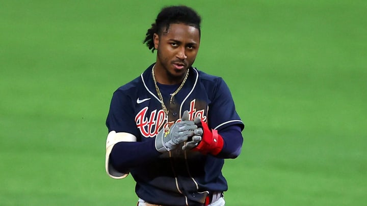 Top 10 fantasy baseball starting pitchers for the 2021 MLB season, including Ozzie Albies.