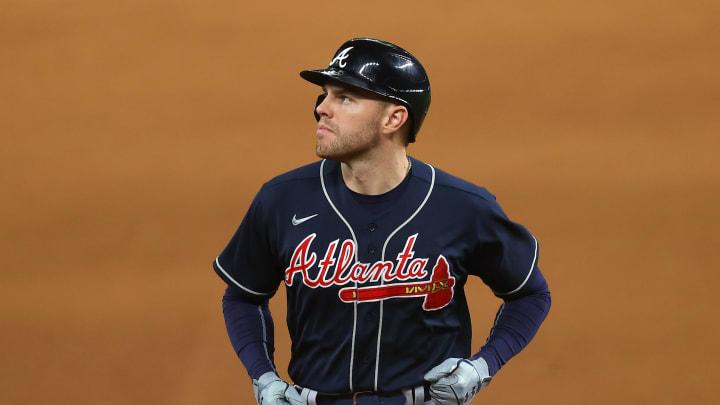 Top 10 fantasy baseball first basemen for 2021 MLB season, including Freddie Freeman.