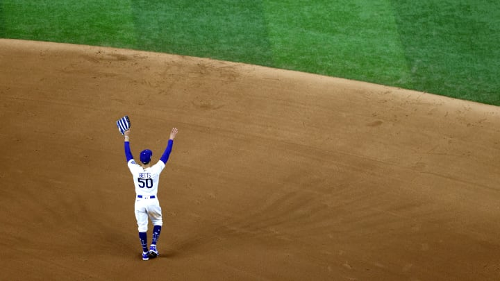 Mookie Betts has become a Dodgers legend