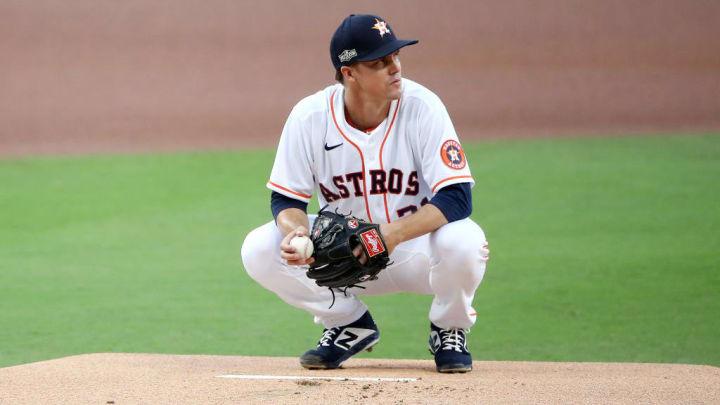 Zack Greinke is a top starting pitcher sleeper for fantasy baseball in 2021.