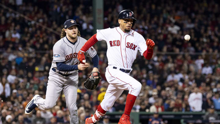 Gerrit Cole and Mookie Betts