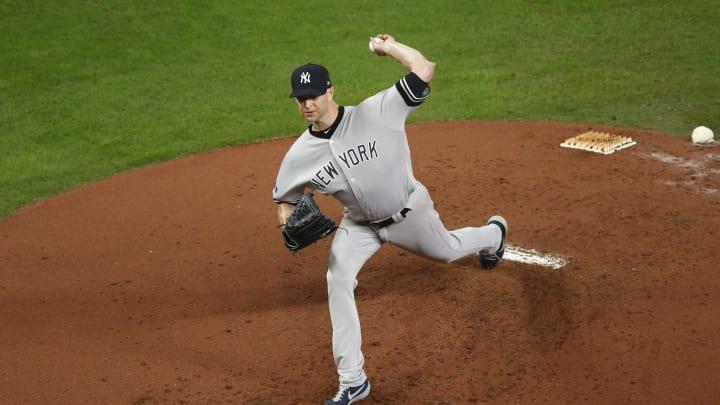 New York Yankees Pitcher JA Happ