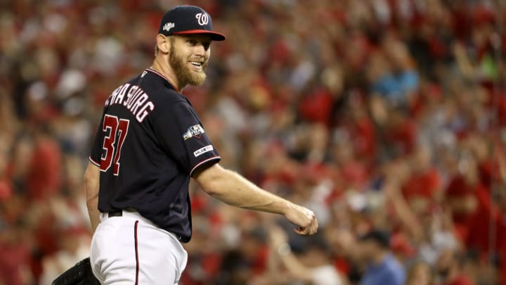 The Yankees' meeting with free agent Stephen Strasburg reportedly went well on Wednesday.