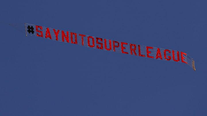 Avrupa Süper Ligi protestosu