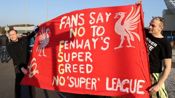 Leidensgenossen in Liverpool