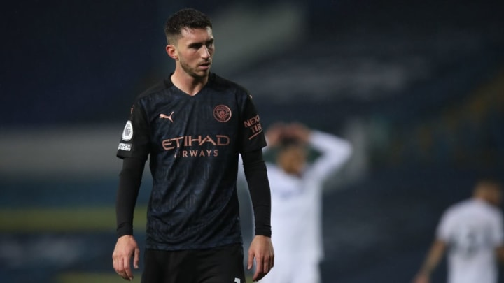 Laporte sat out the 2-0 win against Fulham at the weekend