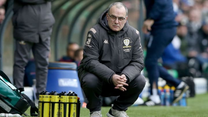 Bielsa's future in Leeds is uncertain if the club do not achieve promotion to the Premier League