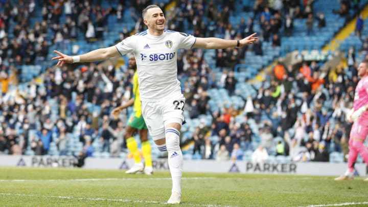 Jack Harrison is staying at Leeds