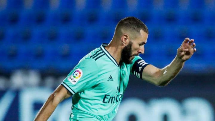 Benzema Real Madrid - La Liga Santander
