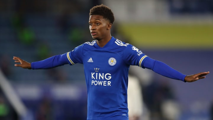 Demarai Gray has six months left on his Leicester contract