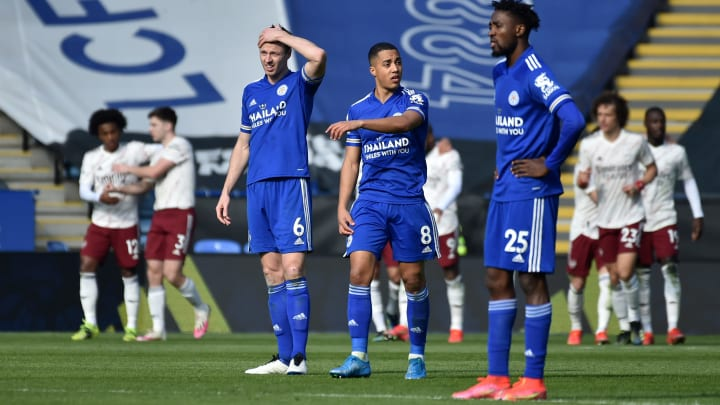 The Gunners defeat was a damaging one for Leicester