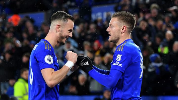 Jamie Vardy, James Maddison