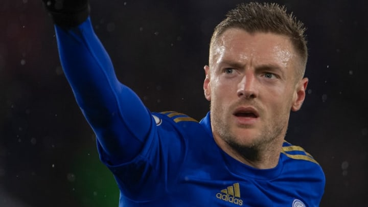Vardy is showing no signs of slowing down