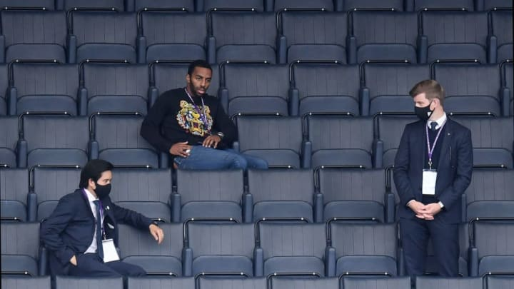 Ricardo supporting his side from the stands