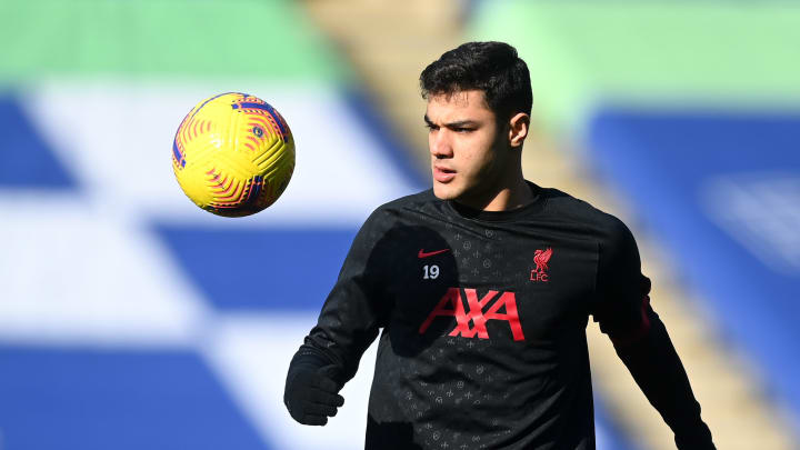 Ozan Kabak started for Liverpool for the first time against Leicester