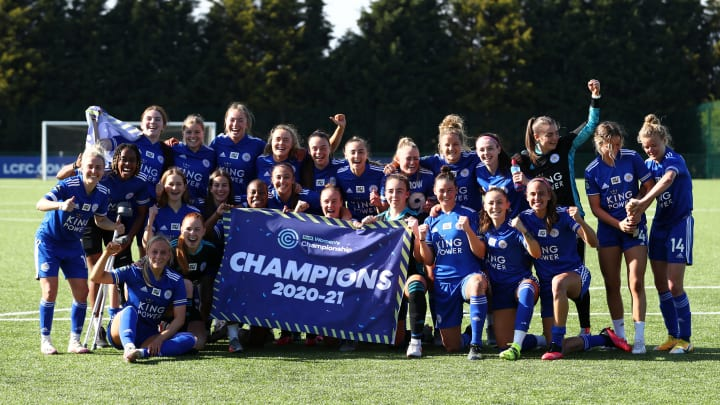 Leicester have sealed the 2020/21 Women's Championship title