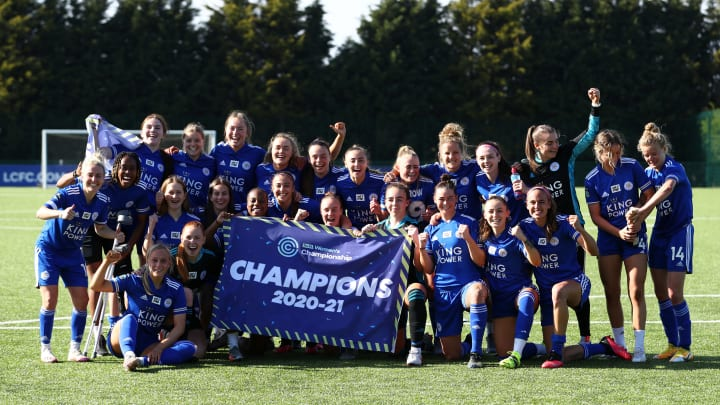 Leicester will celebrate their promotion to the WSL by playing at the King Power Stadium on 2 May