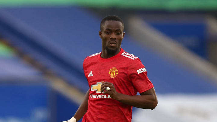 Eric Bailly in action for Manchester United this season
