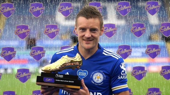 Jamie Vardy đã có một mùa giải đáng nhớ và giành danh hiệu chiếc giày vàng của Premier League.