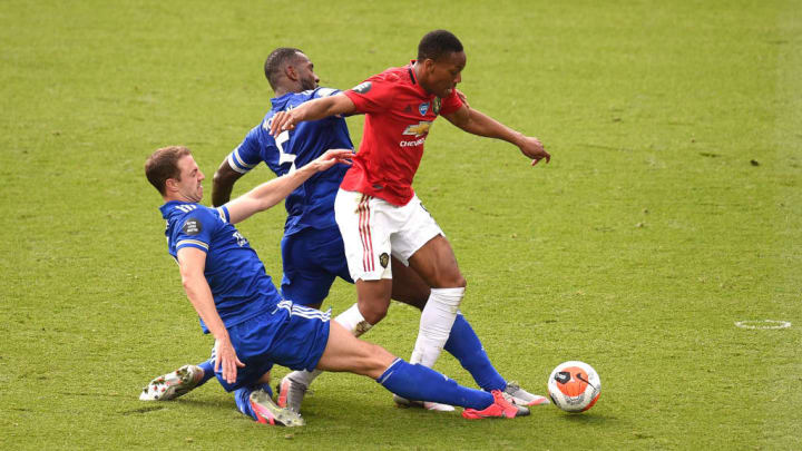 Anthony Martial, Wes Morgan