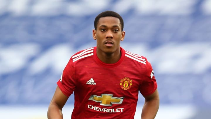 Anthony Martial has been mocked by Thibaut Courtois