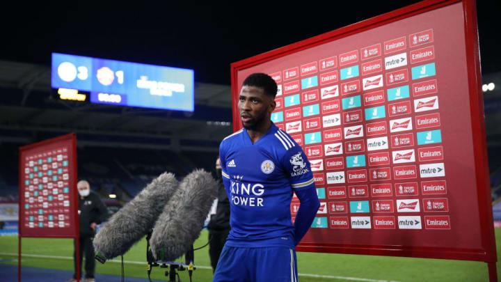 Kelechi Iheanacho Premier League Leicester Foxes