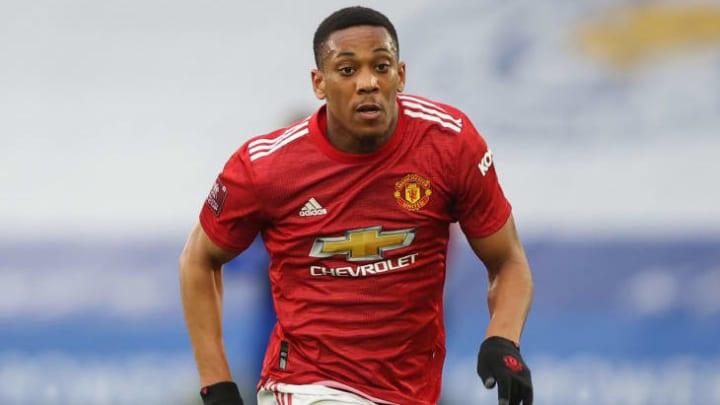 Anthony Martial poussé vers la sortie par Manchester United.