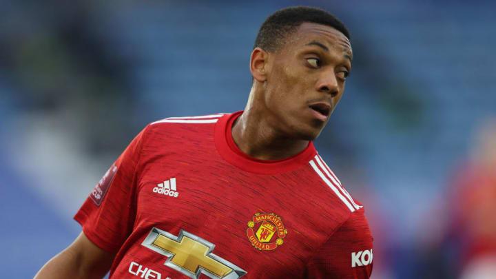 Anthony Martial Premier League Manchester United