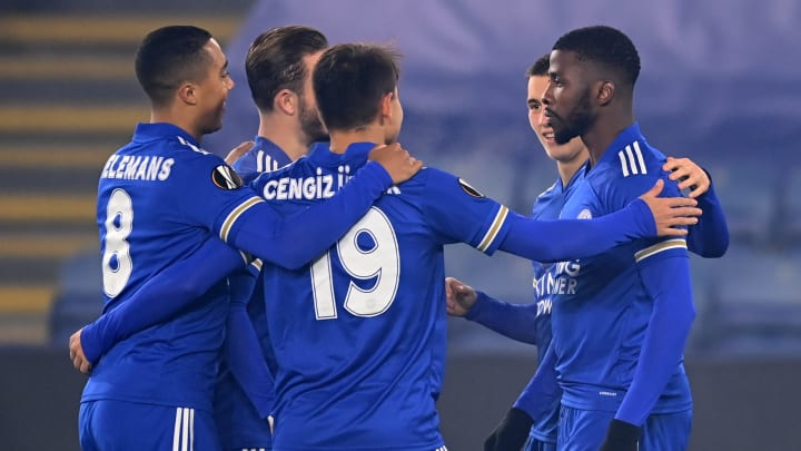 Leicester romped to a 4-0 win over a lacklustre Braga side